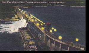 Missori Bagnell Dam Night View Of Bagnell Dam Creating Missouris Great Lake O...