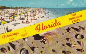 Greetings From Florida The Sunshine State 1971