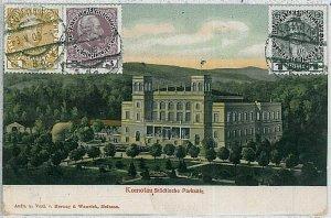 VINTAGE POSTCARD:  CZECH REPUBLIC - Chomutov : Komotau 1909
