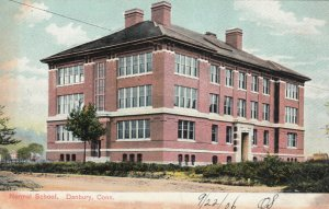 DANBURY , Connecticut, 1901-07 ; Normal School