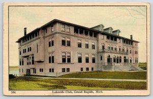 Grand Rapids Michigan~Unusual Architecture~Lakeside Club~Dormers~Balustrade~1908