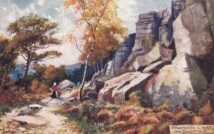 SHEFFIELD(Yorkshire), England, 00-10s; TUCK; Artist JOTTER ; Wharncliffe Crags
