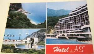 Yugoslavia Perazica Do Hotel AS 01069 - posted 1990