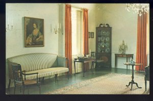 Waltham, Massachusetts/MA Postcard, Music Room, Governor Gore Country Estate