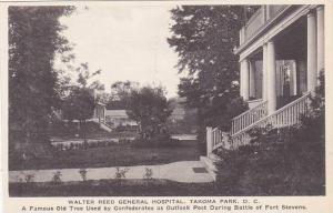 Washington DC Walter Reed General Hospital Takoma Park Albertype