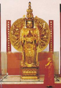 Kuan Yin Bodhisattva Statue, The International Buddhist Society, Richmond, Br...