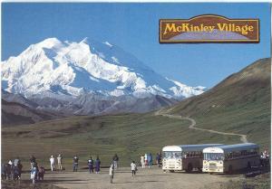 McKinley Village Lodge, Denali National Park & Reserve, Alaska, unused Postcard
