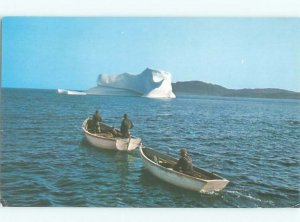 Pre-1980 NORTHERN NEWFOUNDLAND St. Anthony postmark on Great Peninsula NL AF4208