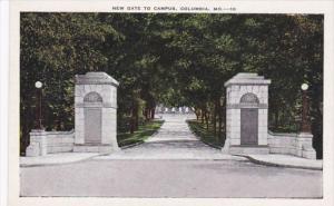 Missouri Columbia New Gate To Campus