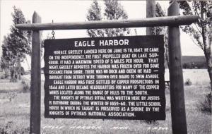 Eagle Harbor Michigan Real Photo