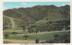 AVALON, Catalina Island, California, 1910s; Golf Links