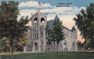 CRAWFORDSVILLE, Indiana, 1900-1910's; Willson School