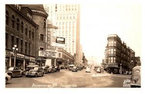 Washington Tacoma ,  Broadway at 9th ,  Kress ice Cream, Brown´s Cigars, RPC