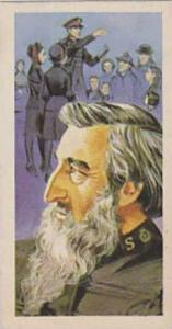 Brooke Bond Tea Vintage Trade Card Famous People 1967 No 10 William Booth