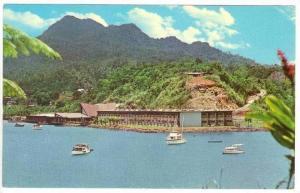 Tradewinds, boats off of Bay of Islands, Fiji, 1940-60s