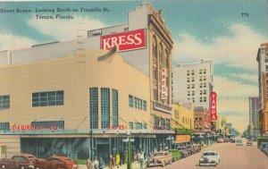 TAMPA , Florida , 1930-40s ; Street Scene