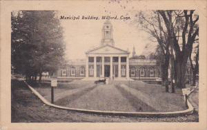 Front view,  Municipal Building,  Milford,  Connecticut,   PU_00-10s