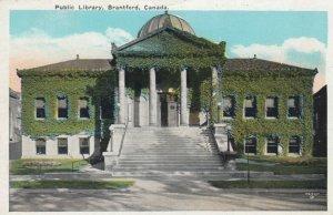 BRANTFORD , Ontario , 1900-10s; Public Library
