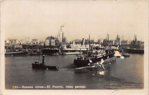 El Puerto Buenos Aires Argentina Postcard