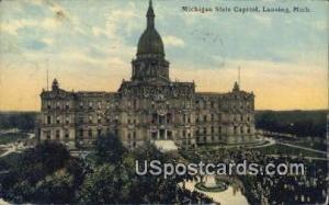 Michigan State Capitol Building Lansing MI 1915