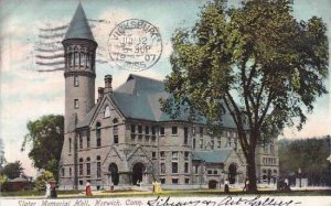 Connecticut Norwich Slater Memorial Hall 1907