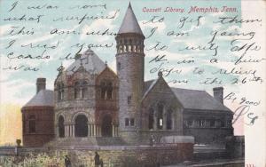 Cossett Library, Memphis, Tennessee, PU-1908