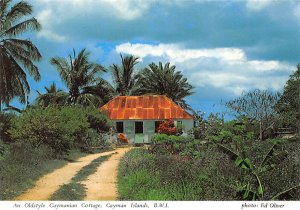 Grand Cayman Islands Post card Old Vintage Antique Postcard An Oldstyle Cayma...