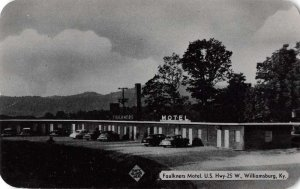 Williamsburg Kentucky Faulkners Motel Vintage Postcard AA39806