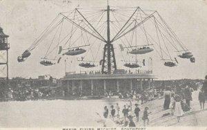 SOUTHPORT, England, PU-1904 ; Maxium Flying Machine