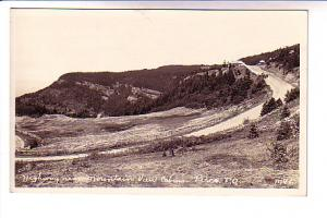 Real Photo Highway Near Mountain View Cabins Perce Quebec, Velox