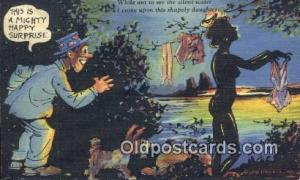 Curt Teich & Co Silhouette Postcard Post Card Old Vintage Antique  Curt Teich...