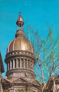The State Capitol Gold Dome Trenton Mercer County New Jersey