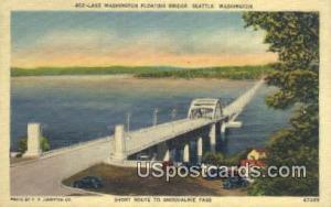 Lake Washington Floating Bridge