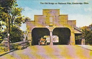 Ohio Cambridge Old Bridge On National Pike