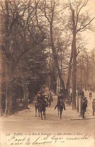 France Paris Le Bois de Boulogne Aux Acacias