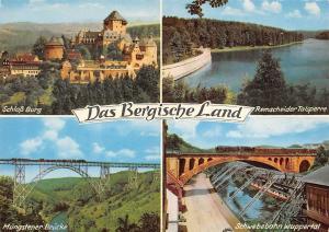 Das Bergische Land, Schloss Burg, Schwebebahn Wuppertal, Muengstener Bruecke