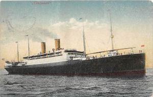5386  S.S. Cincinnati,    Hamburg   Amerika -Line