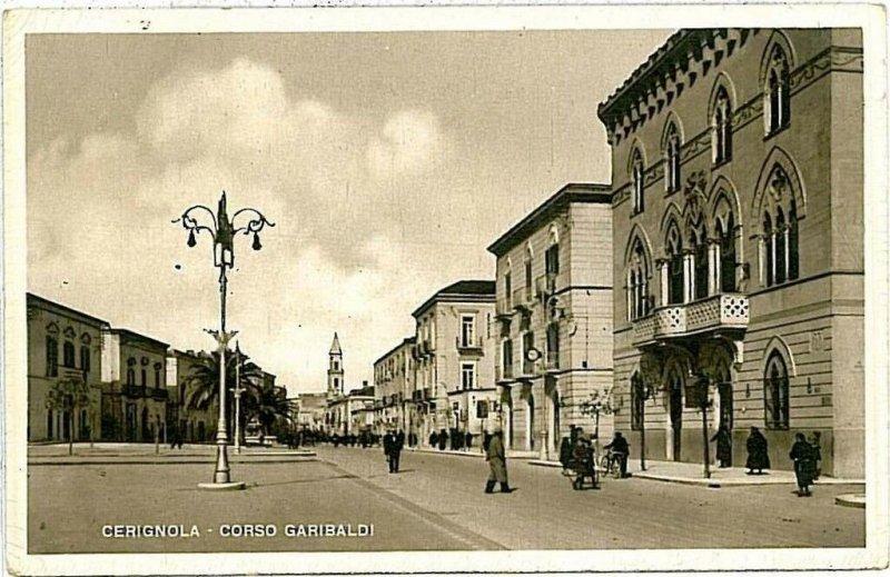 CARTOLINA d'Epoca - FOGGIA: Cerignola