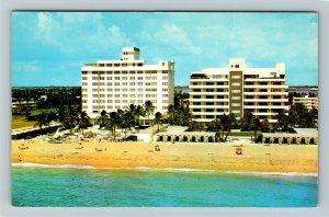 Miami FL- Florida, Kenilworth, Kenilworth House, Chrome Postcard