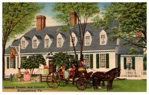 Virginia  Williamsburg , raleigh Tavern and Garden