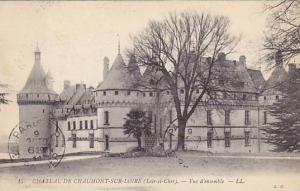 Vue d'Ensemble, Chateau De Chaumont-Sur-Loire (Loir et Cher), France, PU-1911