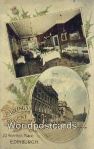 Scotland, Escocia Darlings Regent Hotel Edinburgh Darlings Regent Hotel