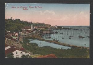 119372 Brazil BAHIA Agua de Meninos Obras do Porto PORT Old PC