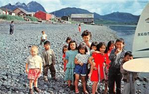 KODIAK ISLAND, AK Alaska  KIDS GREETING PLANE~BOAT Red Carpet Committee Postcard