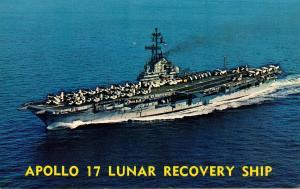 USS Ticonderoga (CVS-14). Apollo 17 Lunar Recovery Ship