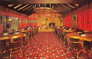 Stockholm New Jersey~Lantern Pub Interior~Jorgensen's Pub~Busy Red Carpet 1950s
