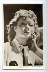 b5610 - Film Actress - Greer Garson  - Picturegoer No.W.95 - postcard