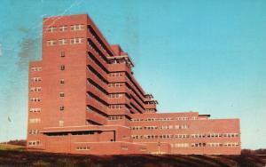 Iowa City, IA, Veteran's Hospital, State University, 1956 Vintage Postcard g833