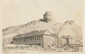 RP: CASTLEROCK , Wyoming , 1910-30s ; Green River High School