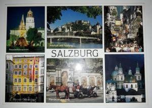 Salzburg, Austria, Picturesque festival city of Salzburg